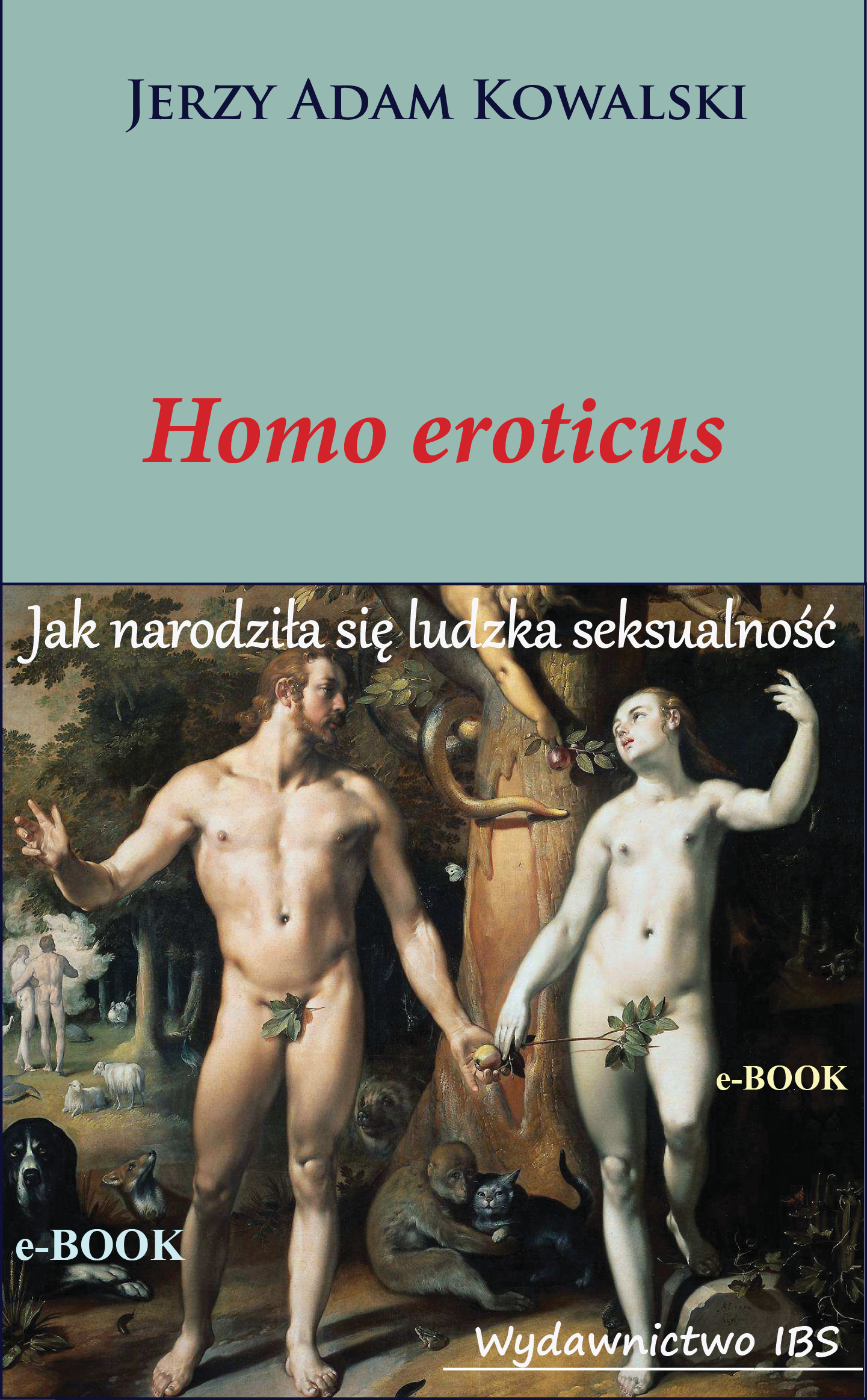 Homo erot ebook okladka